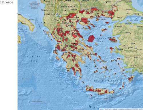 Natura2000 sites in Greece – DEMO WebGIS